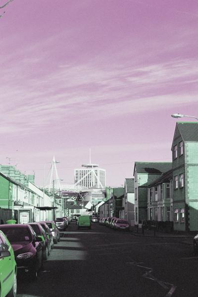 Urban Space | Diwedd Dyfodol by Cardiff to the See